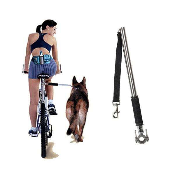 hunde fahrradhalter run mit zugbremse fuers velo