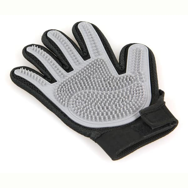 hunde handschuh fellpflege haarentfernung