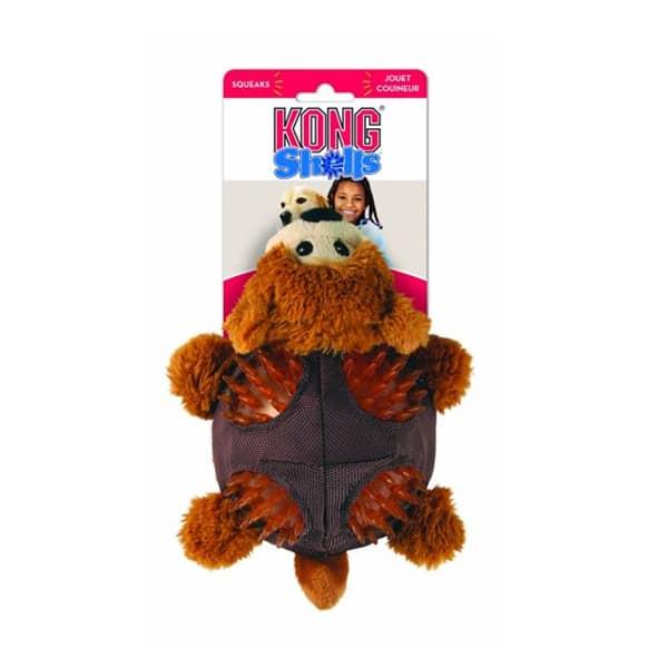hunde teddybaer kong shells bear 1