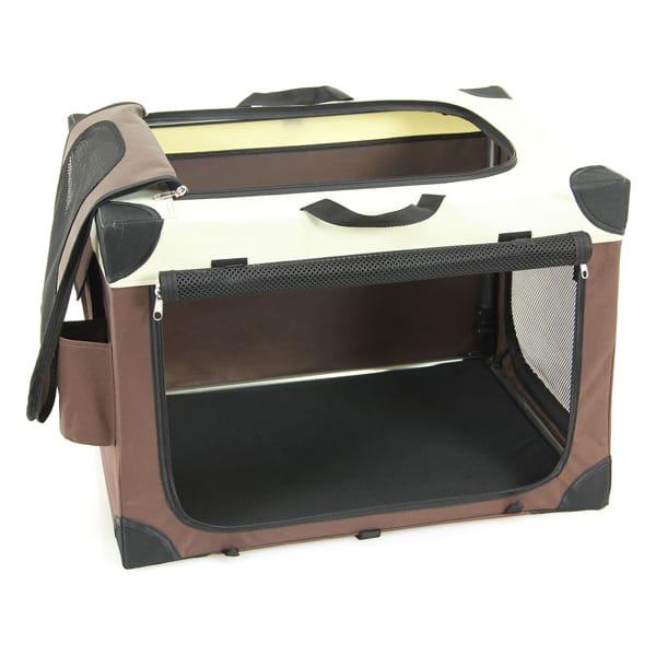 hunde transportbox tasche transco zusammenklappbar