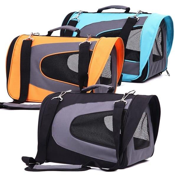 hunde transporttasche air schwarz