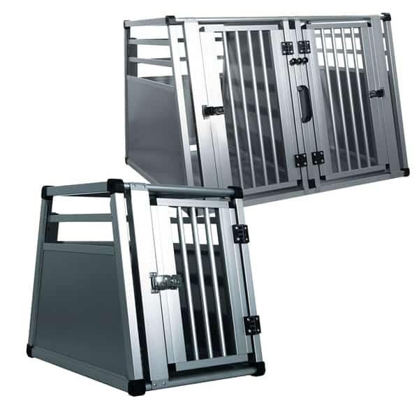 hundebox auto swisspet transportbox carbox deluxe