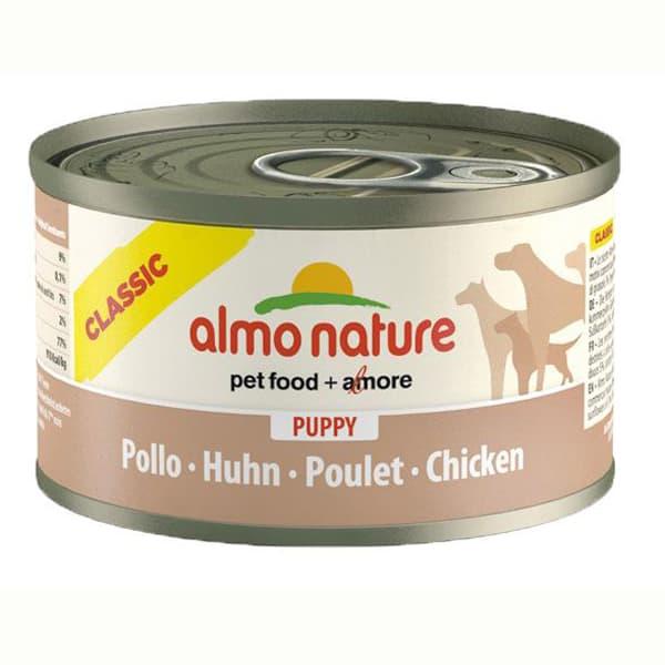 hundefutter almo nature hfc welpen huhn