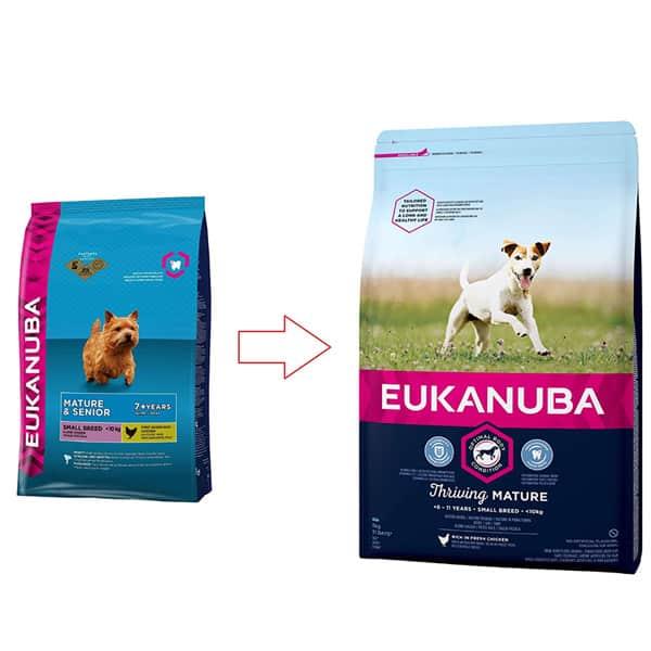 hundefutter kleine rassen senior Eukanuba