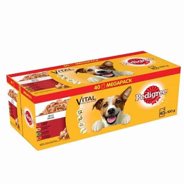 hundefutter pedigree vital protection