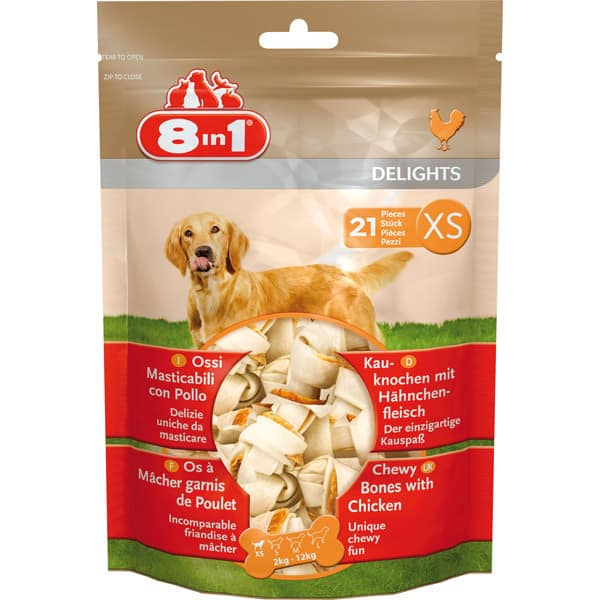 hundesnacks 8in1 delights xs 21x kaufen