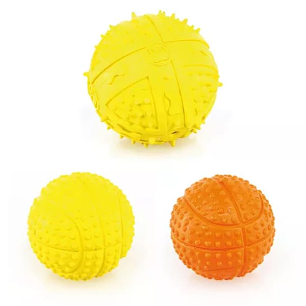 hundespielball mit noppen 1
