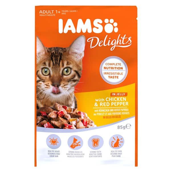 iams delights nassfutter huhn paprika