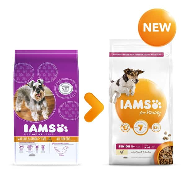 iams for vitality senior hundefutter