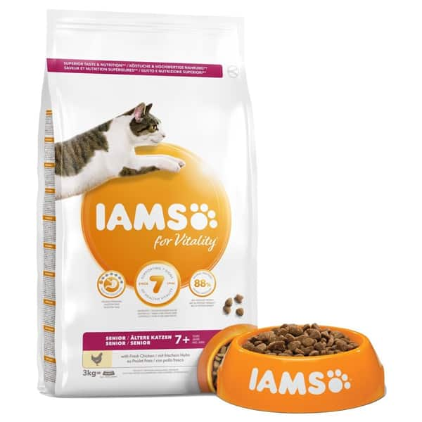 iams for vitality senior katzenfutter