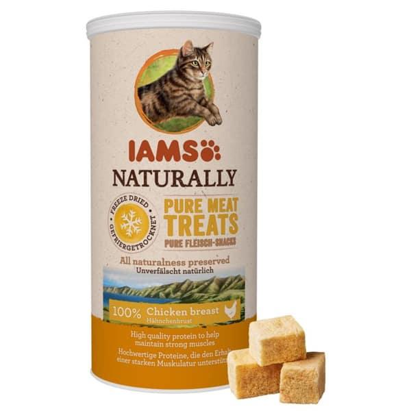 iams naturally treats katzensnacks huhn 1