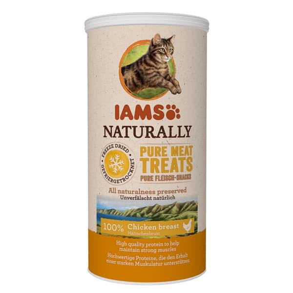 iams naturally treats katzensnacks huhn