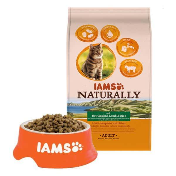 iams naturally trockenfutter katzen kaufen mypet