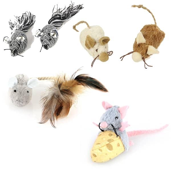 jagt katzenspielzeug aus pluesch 1