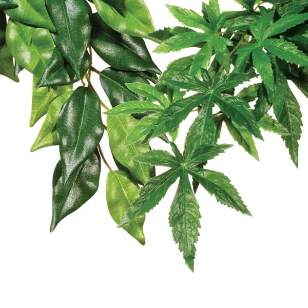 jungle plants terrarium pflanze aus seide
