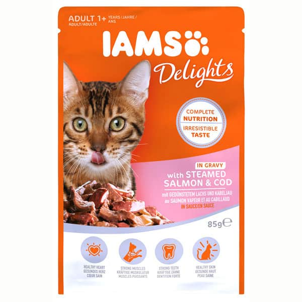katzen nassfutter iams delights land collectionDelights Land Collection Iams Katzen Nassfutter