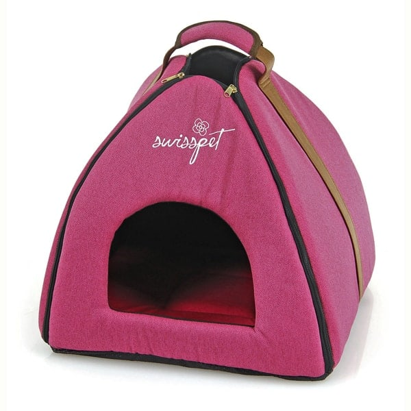 katzen und hunde iglu osiris pink