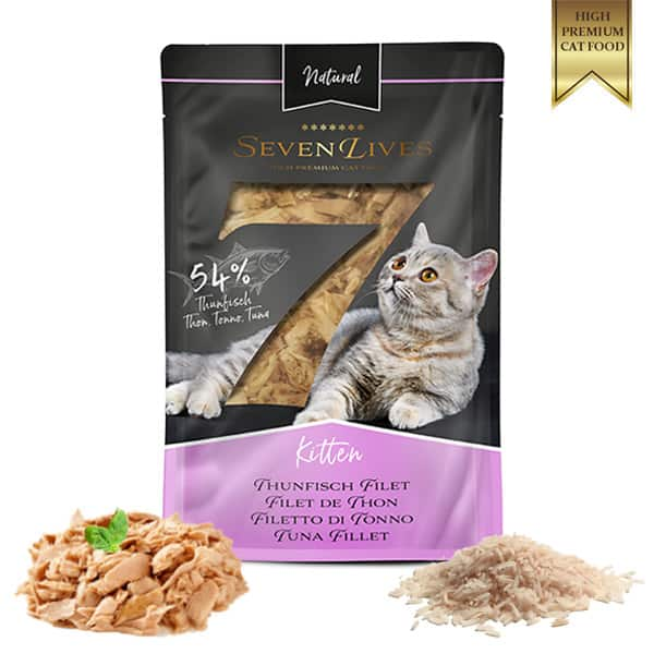 katzenfutter SevenLive Kitten harmony of cat food