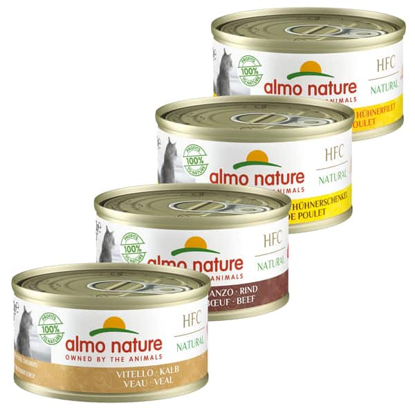 katzenfutter almo nature dosen nassfutter