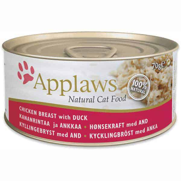 katzenfutter applaws chicken breast duck