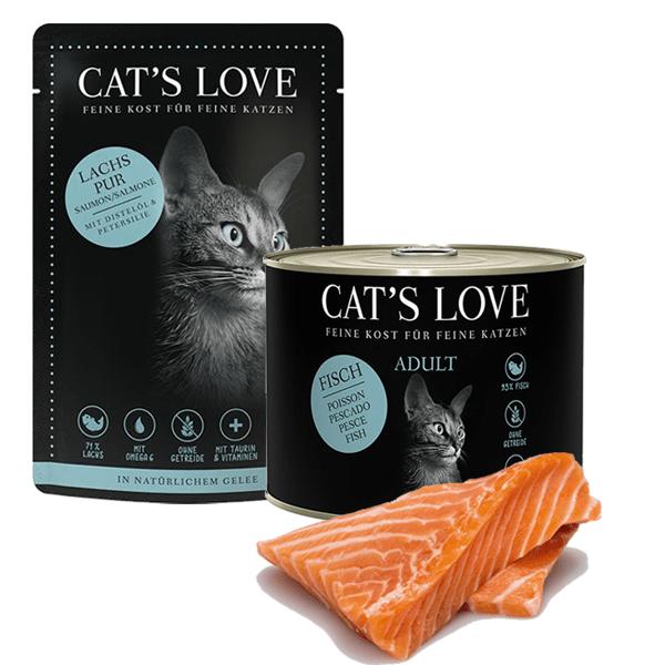 katzenfutter lachs cats love kaufen