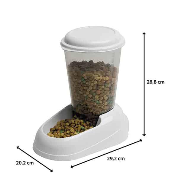 katzenfutterspender ferplast zenith trockenfutter