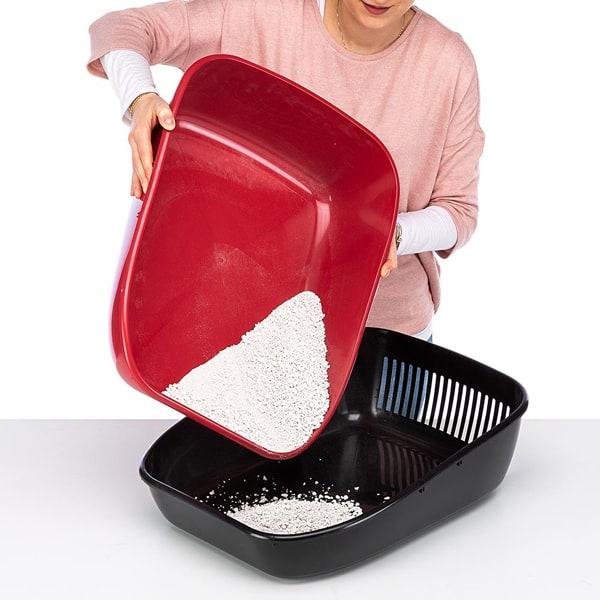 katzenhaustoilette magix ferplast