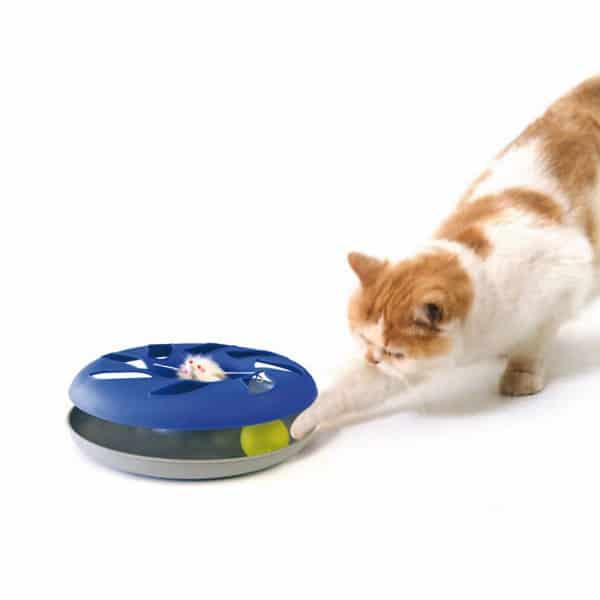 katzenspielzeug catsy roundable swisspet