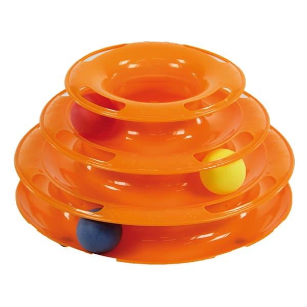 katzenspielzeug playtower swisspet