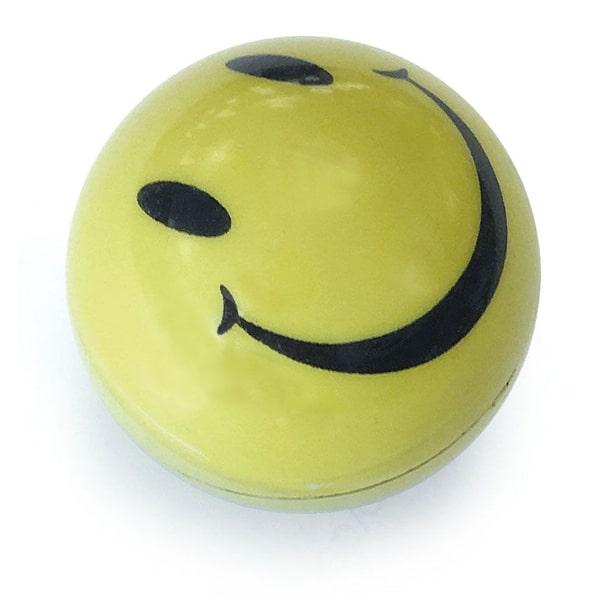 katzenspielzeug smile light ball