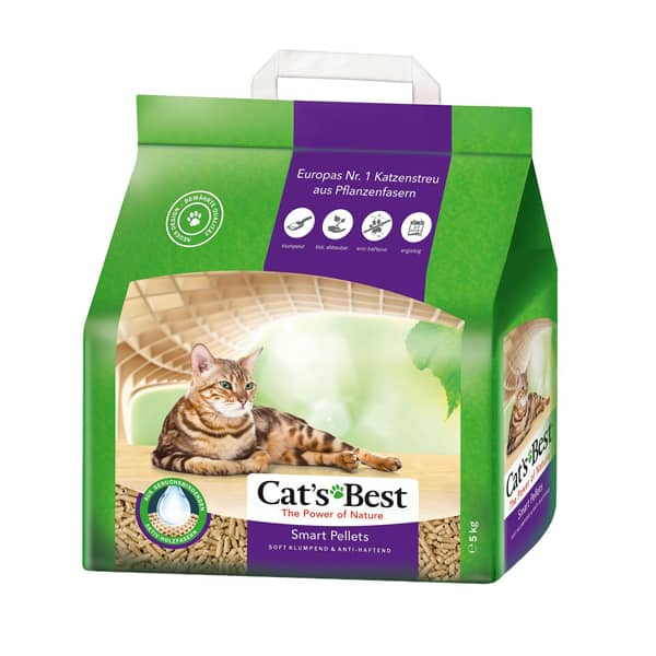 katzenstreu cats best smart pellets
