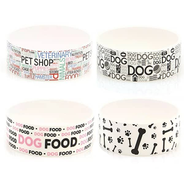 keramik hundenapf swisspet home