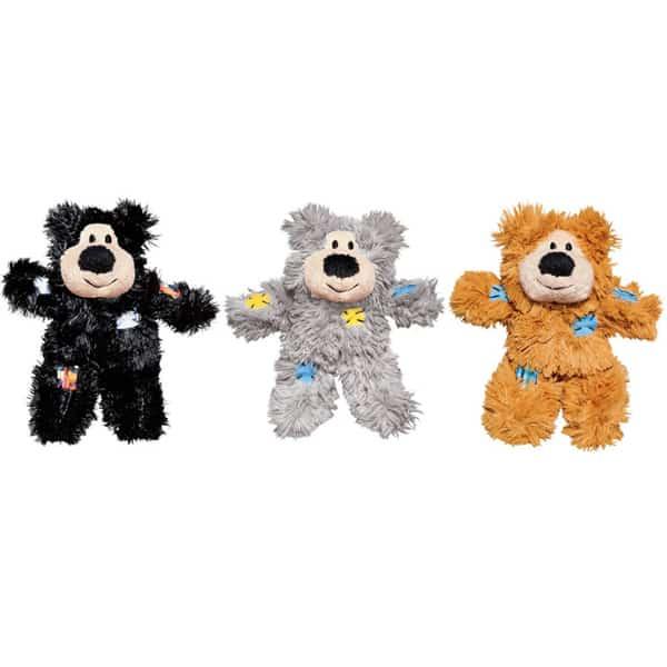 kong cat softies patchwork bear puppen 1