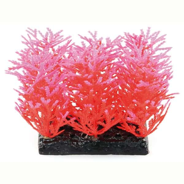 kuenstliche aquarienpflanzen fantasy plant rosa