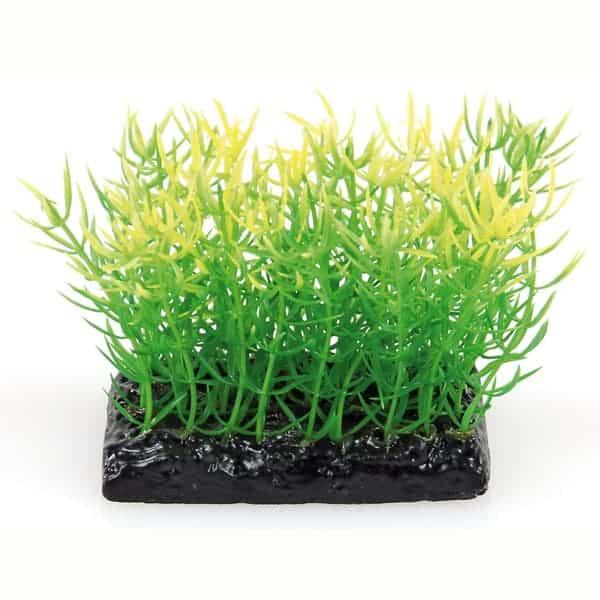 kuenstliche aquarienpflanzen gruen gelb