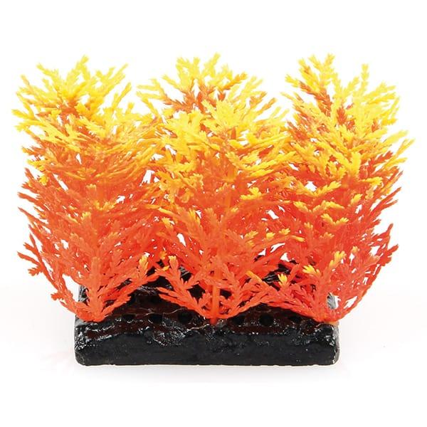 kuenstliche aquariumpflanze amazonas orange