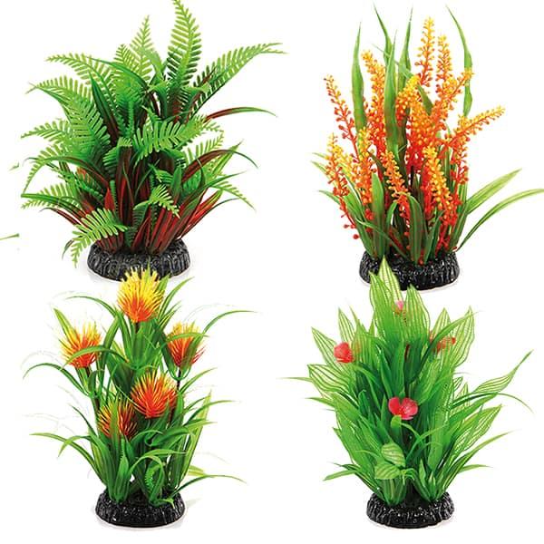 kuenstliche pflanzen aquarium kunstpflanzen 20cm