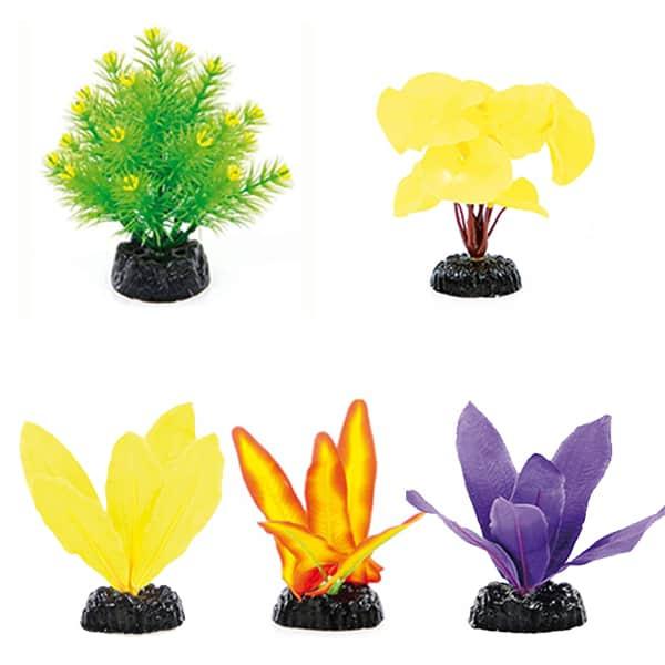kuenstliche pflanzen dekoration aqauariumpflanzen aquariumdeko