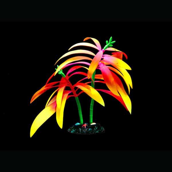 kunstpflanze aquarium palme deko