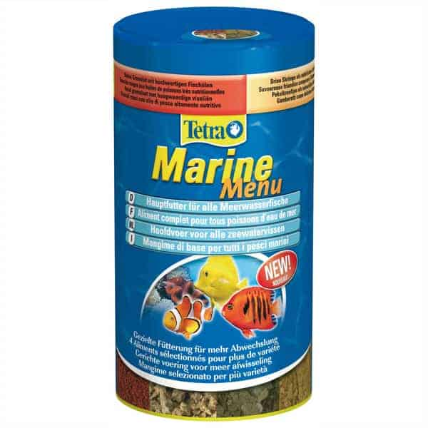 meeresfische fischfutter tetra marine menu