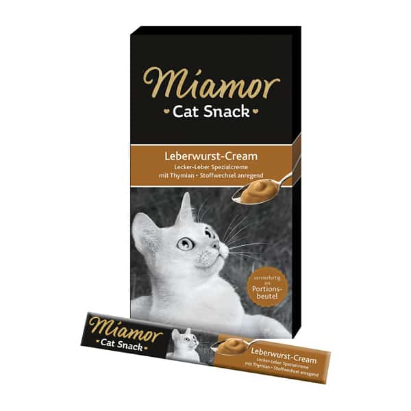 miamor cat snack leberwurst