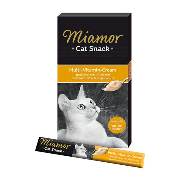 miamor cat snack multi vitamin cream