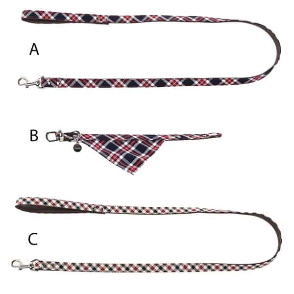 modische hundeleine cityleine halsband