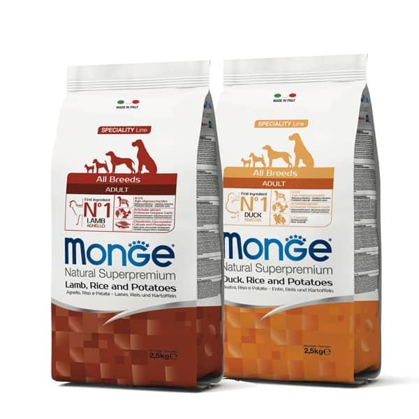 monge alle rassen monoprotein trockenfutter