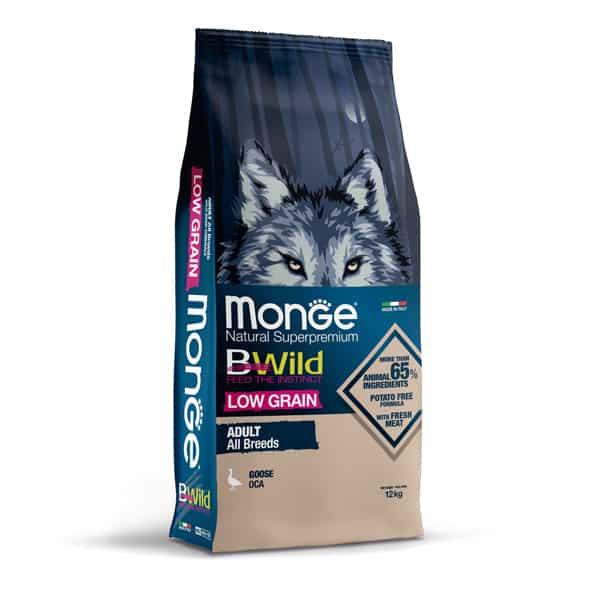 monge bwild low grain hundefutter