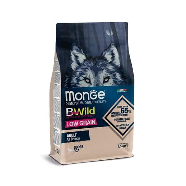 monge bwild trockenfutter low grain