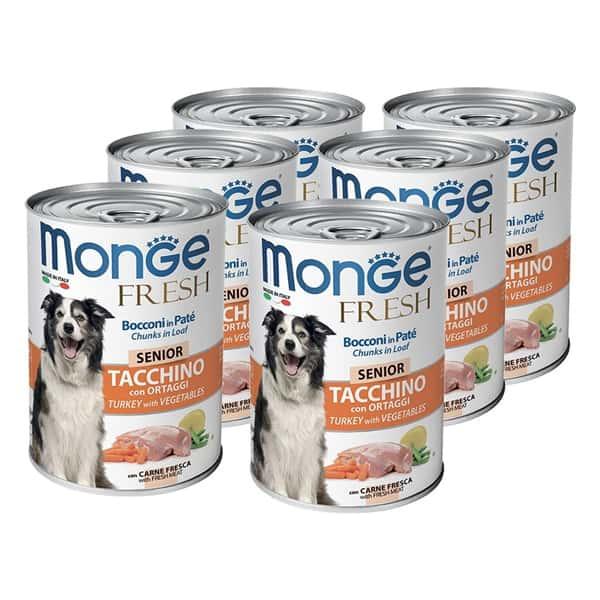 monge dog fresh senior truthahn