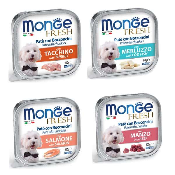 monge fresh zartes hundefutter