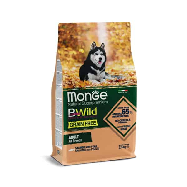 monge hundefutter wolf of wilderness