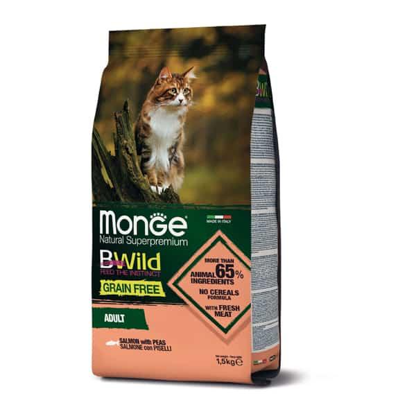 monge katze bwild grain free lachs